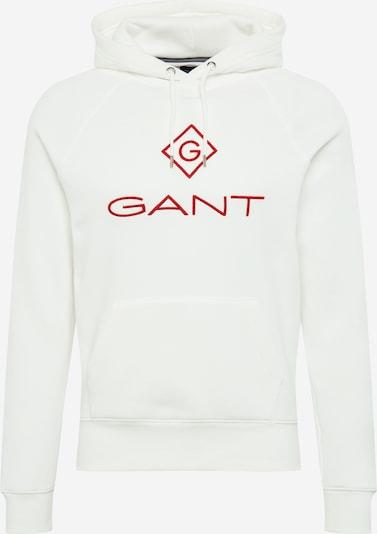 Megztinis be užsegimo iš GANT , spalva - raudona / balta, Prekių apžvalga