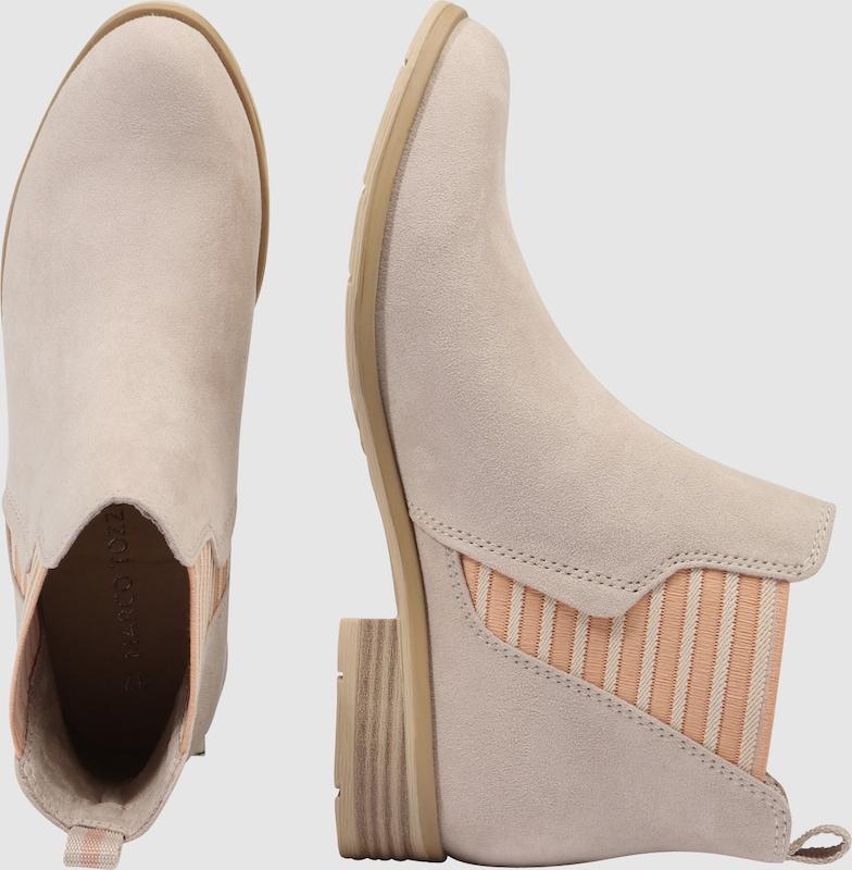 MARCO TOZZI Chelsea Boots mit Streifendetail