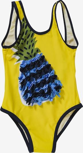 Boboli Badeanzug in blau / dunkelblau / gelb / grün, Produktansicht