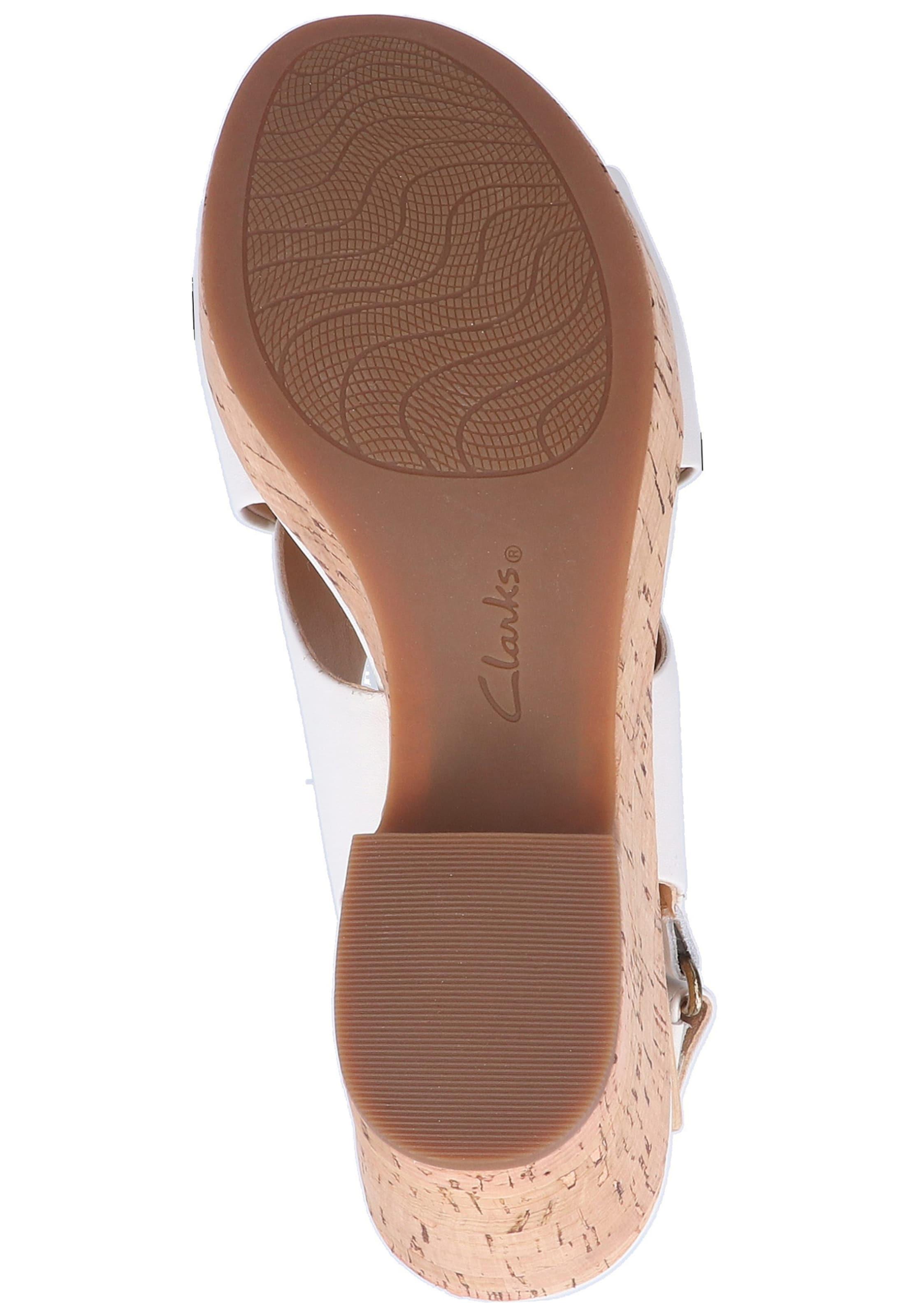 Clarks In Sandalen Clarks Sandalen In BraunWeiß v8wOm0nN