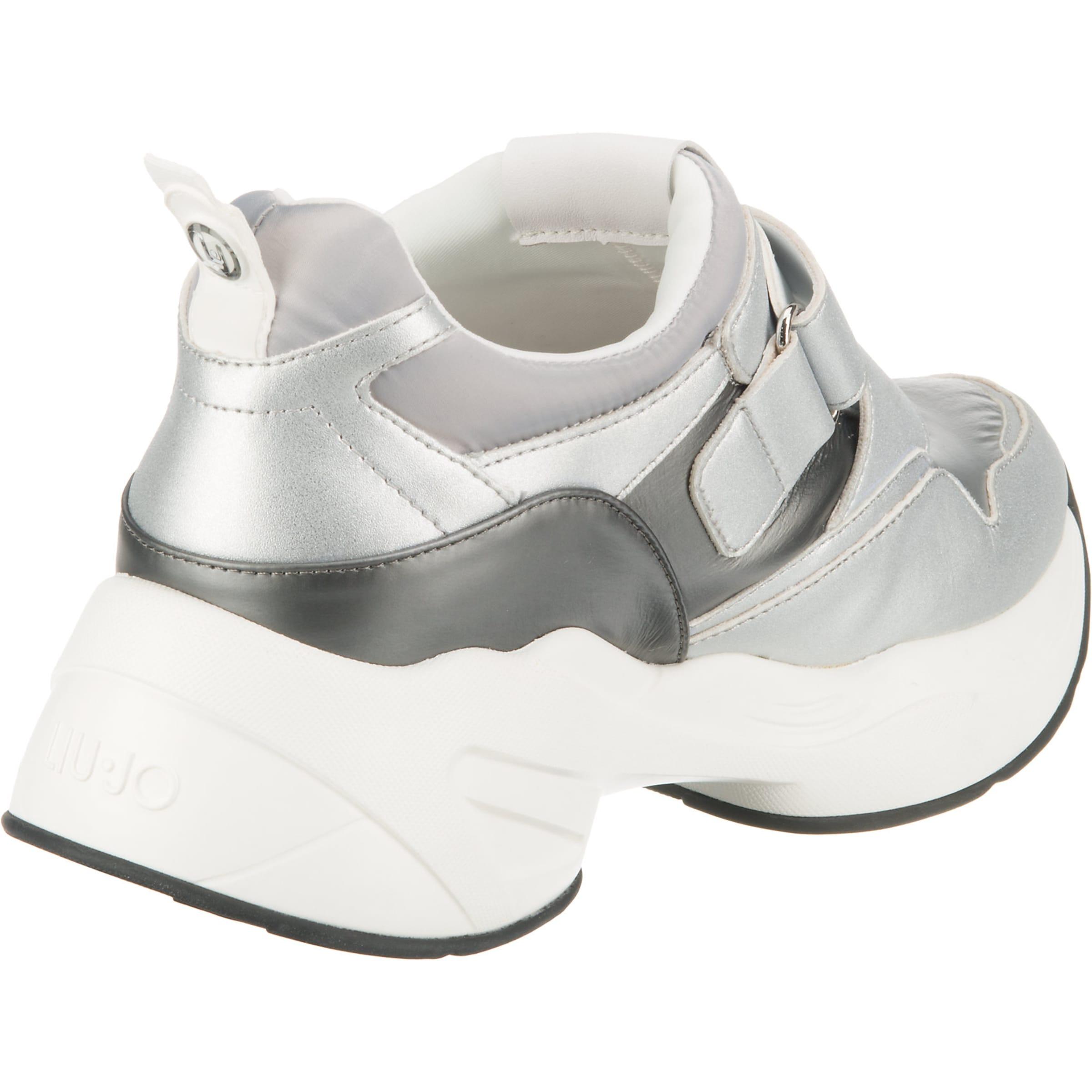 SilberWeiß 10' Liu In Jo Sneakers Low 'jog l3KTFJc1