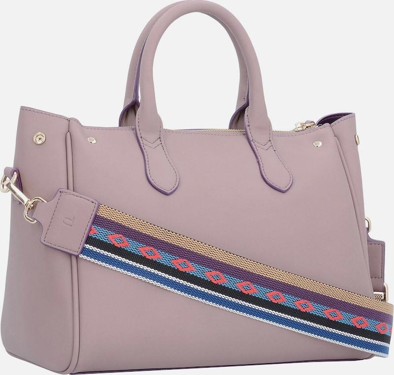Trussardi Jeans Blondie Ecoleather Stud Tote Medium Bag Handtasche 30 cm