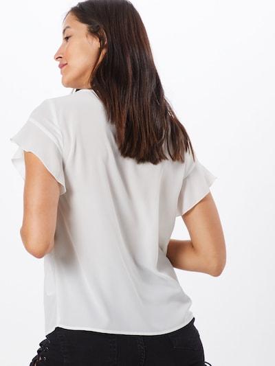 VILA Blusenshirt in weiß: Rückansicht