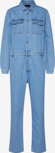 Dr. Denim Jumpsuit 'york boiler suit' i blå denim, Produktvy