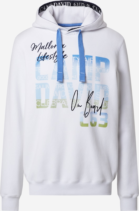 Camp David Sweatshirt mit Kapuze wie neu