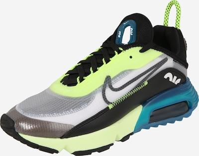 Nike Sportswear Baskets basses 'Air Max 2090' en bleu / vert fluo / noir, Vue avec produit