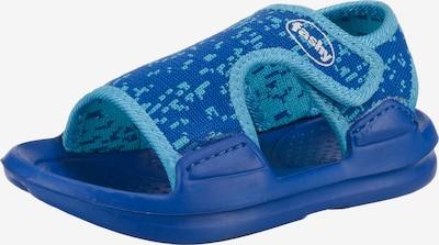 FASHY Badeschuhe 'Bison' in blau / hellblau, Produktansicht