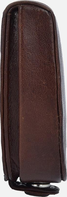 Bric's Monte Rosa Münzgeldbörse RFID Leder 8,5 cm