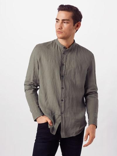 DRYKORN Overhemd 'TAROK' in de kleur Kaki, Modelweergave