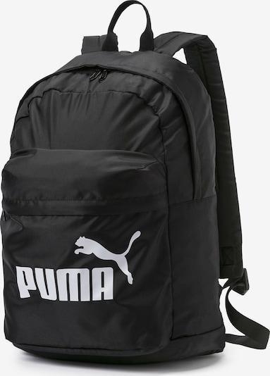 PUMA Sac à dos de sport en noir / blanc, Vue avec produit