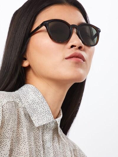 LE SPECS Sonnenbrille 'Bandwagon' in braun / schwarz, Modelansicht