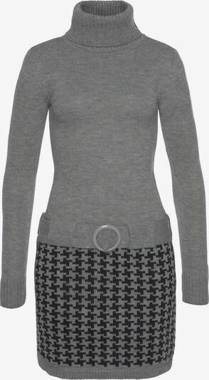 MELROSE Kleid in grau / schwarz, Produktansicht