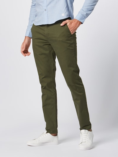 SCOTCH & SODA Chino 'Mott' in dunkelgrün, Modelansicht