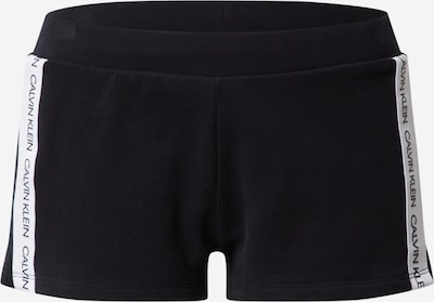 Calvin Klein Underwear Pantalon de pyjama 'W' en noir / blanc, Vue avec produit