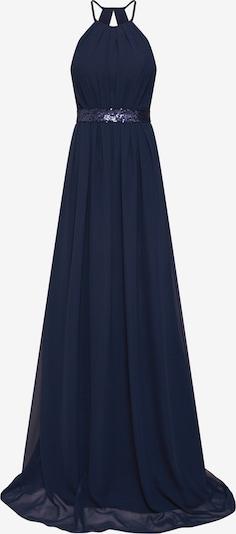 STAR NIGHT Avondjurk 'long dress chiffon & sequins' in de kleur Navy, Productweergave