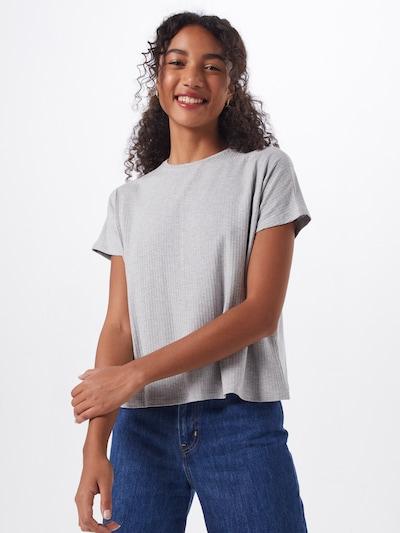 ABOUT YOU Majica 'Cora' u siva melange: Prednji pogled