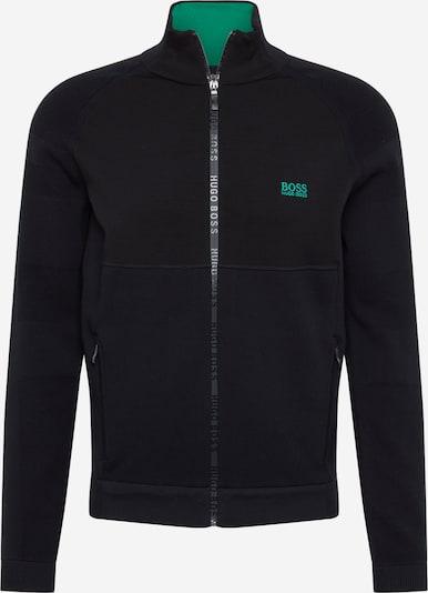 BOSS ATHLEISURE Sweatjacken 'Zalsen' in schwarz, Produktansicht