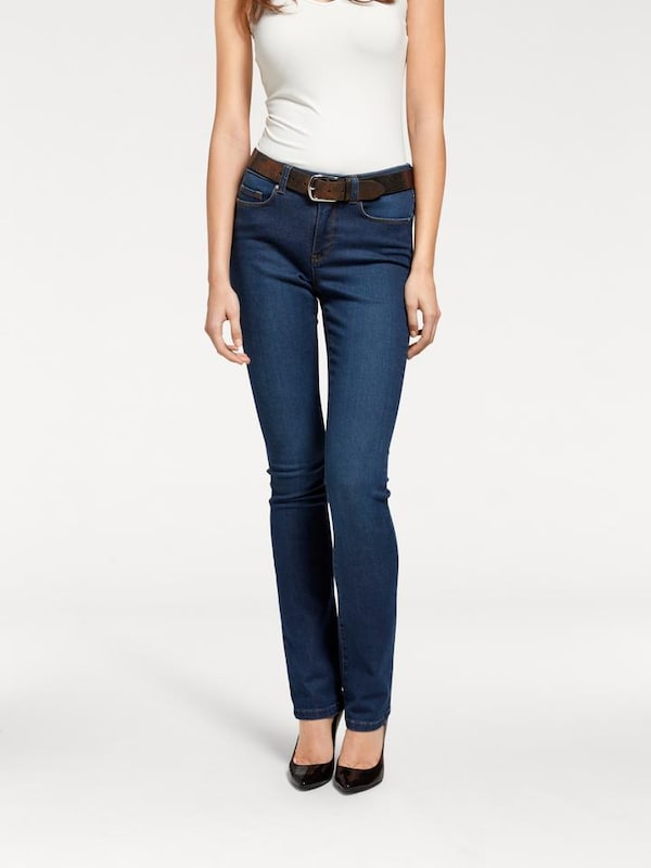 ARIZONA Bootcut Jeans 'Shaping' in blue denim   ABOUT YOU