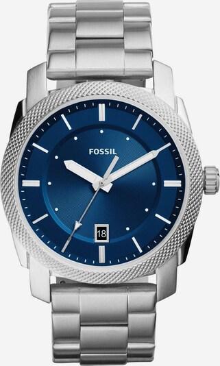 FOSSIL Uhr 'MACHINE, FS5340' in blau / silber / weiß, Produktansicht