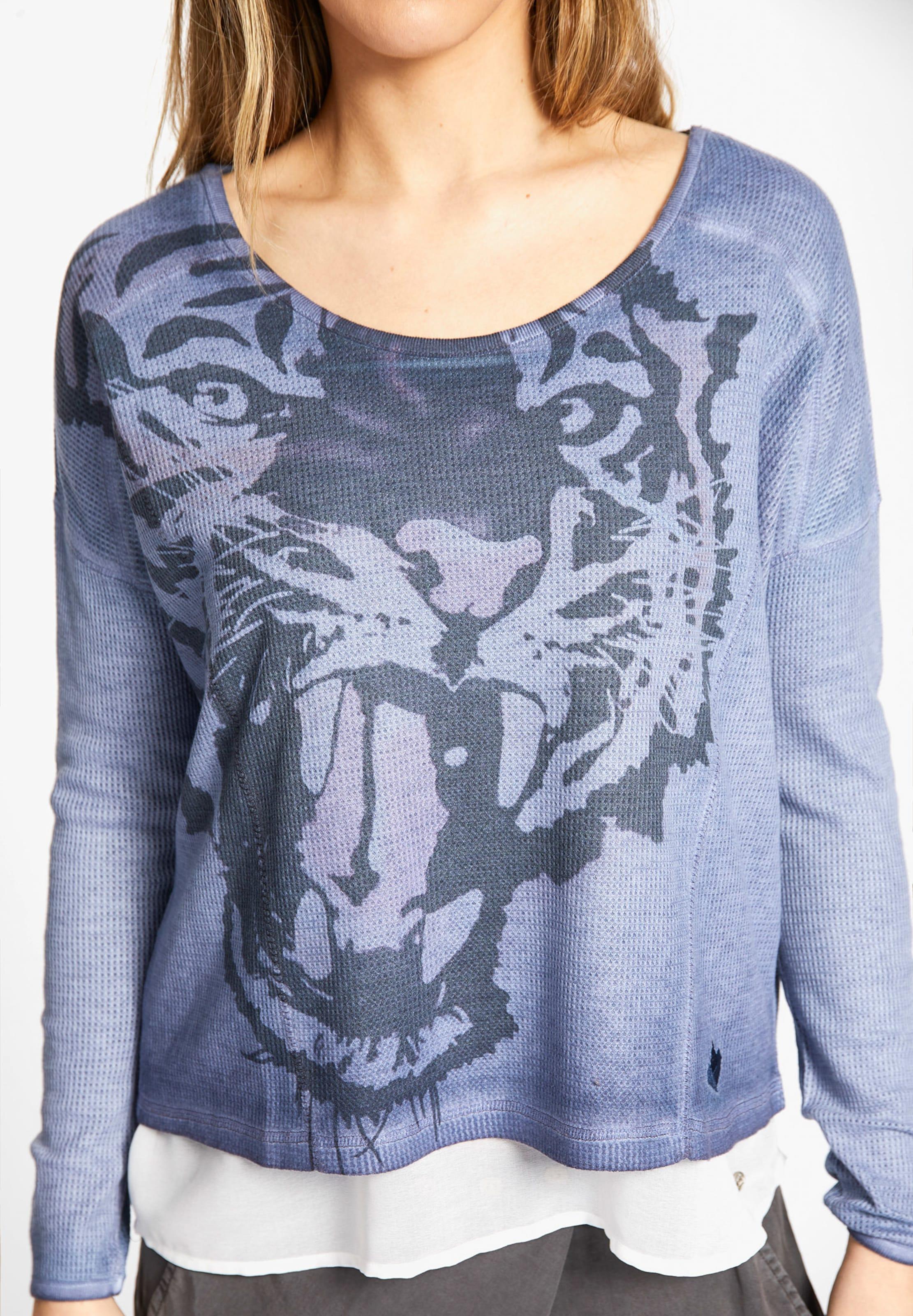 'amadea' 'amadea' Shirt Shirt In HellblauDunkelblau Khujo Khujo e9DH2IWbEY