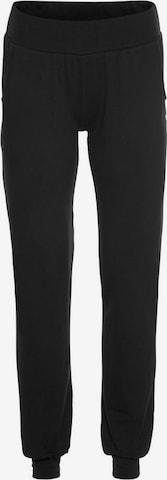 OCEAN SPORTSWEAR Workout Pants in Black