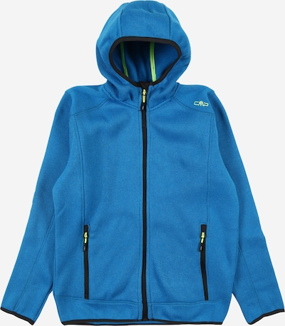 CMP Sportovní mikina - nebeská modř / antracitová / svítivě zelená, Produkt