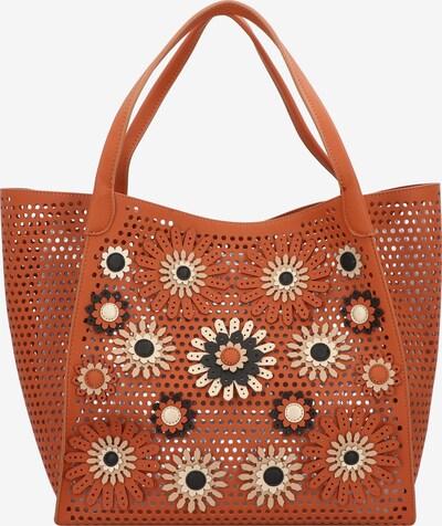 Desigual Shopper 'Allegreto Zaria' in de kleur Beige / Bruin / Zwart, Productweergave