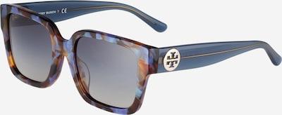 Tory Burch Okulary przeciwsłoneczne w kolorze gołąbkowo niebieski / karmelowy / czarnym, Podgląd produktu