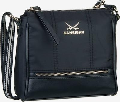 SANSIBAR Umhängetasche ' Zip Bag 1272 ' in schwarz, Produktansicht