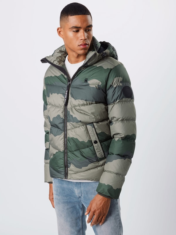 G Star RAW Parka 'Whistler down' in dunkelgrün | ABOUT YOU