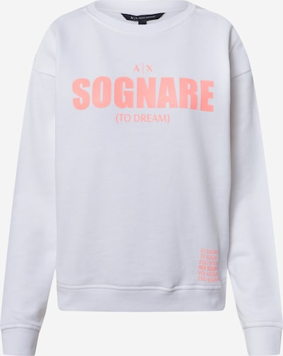 ARMANI EXCHANGE Sweatshirt '3HYM25' in de kleur Pink / Wit, Productweergave