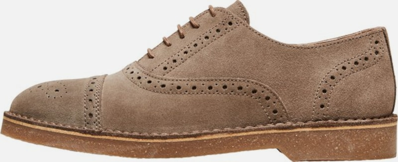 SELECTED HOMME Schuhe in braun, Produktansicht