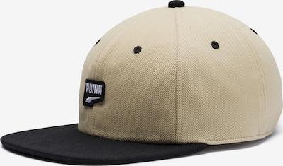 PUMA Cap 'Archive Downtown Flatbrim' in beige / schwarz, Produktansicht