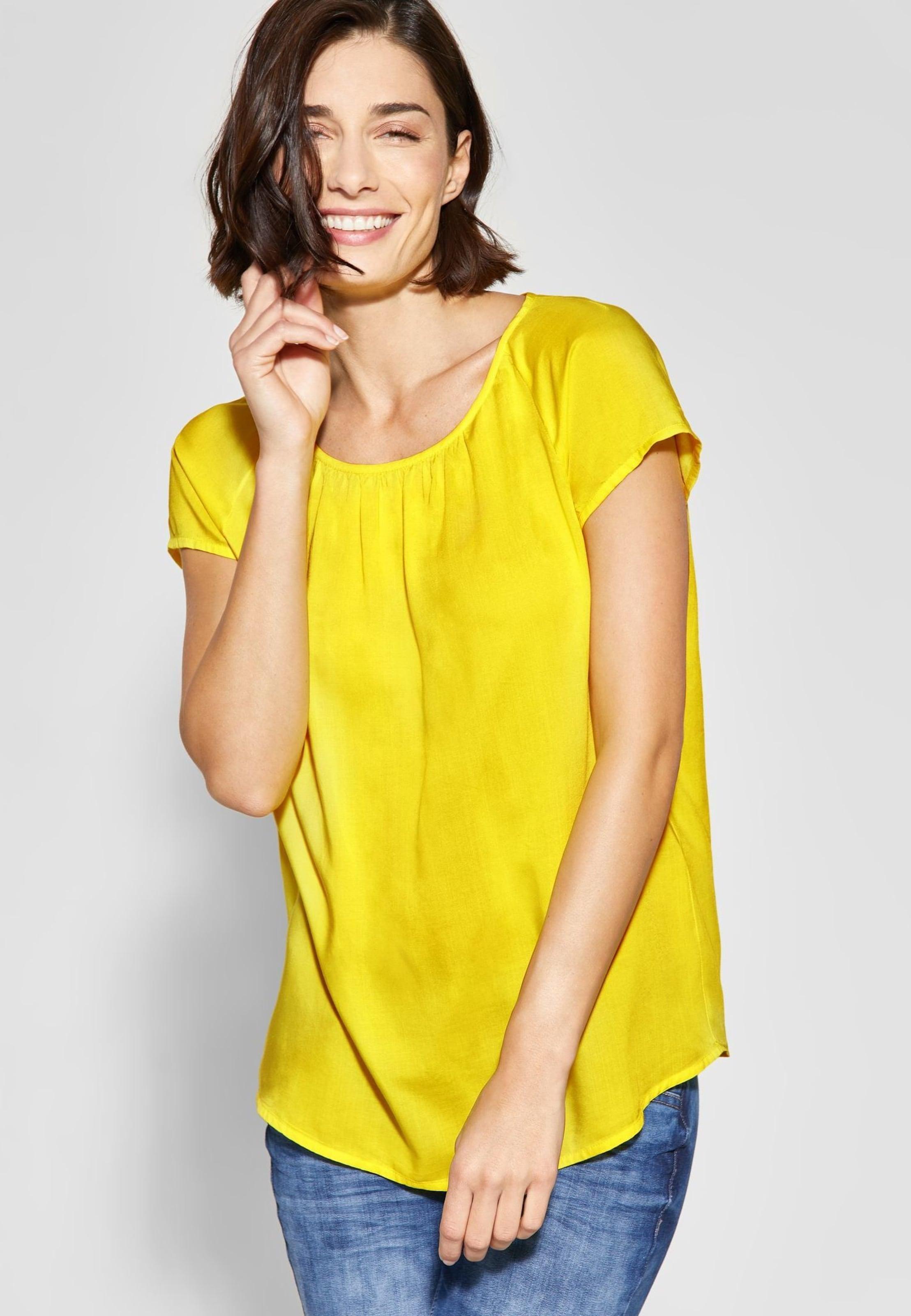 'felia' Shirt Gelb One In Street E9IHD2