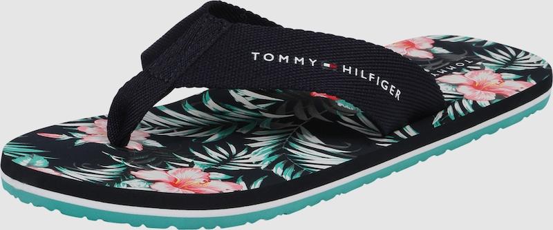 TOMMY HILFIGER Zehentrenner 'FLOWER'