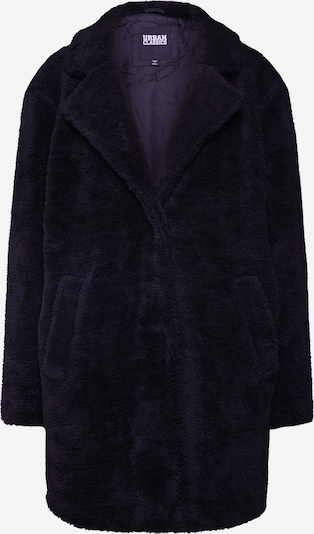 Urban Classics Manteau d'hiver 'Sherpa' en noir, Vue avec produit