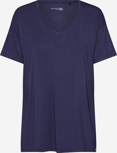 SCHIESSER Slaapshirt in de kleur Nachtblauw, Productweergave