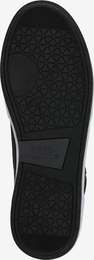 HUB Baskets hautes 'Industry 2.0' en noir / blanc: Vue de dessous
