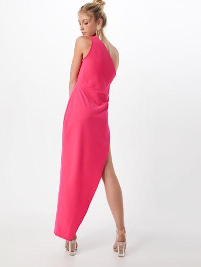 Missguided Cocktailjurk in de kleur Pink: Achteraanzicht