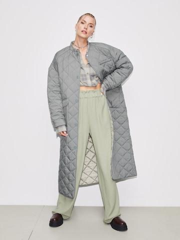 LeGer Quilted Coat Look