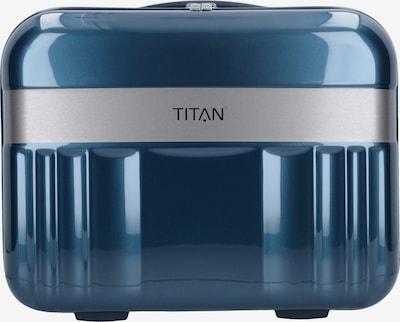 TITAN Beautycase 'Spotlight Flash' in taubenblau / silber, Produktansicht