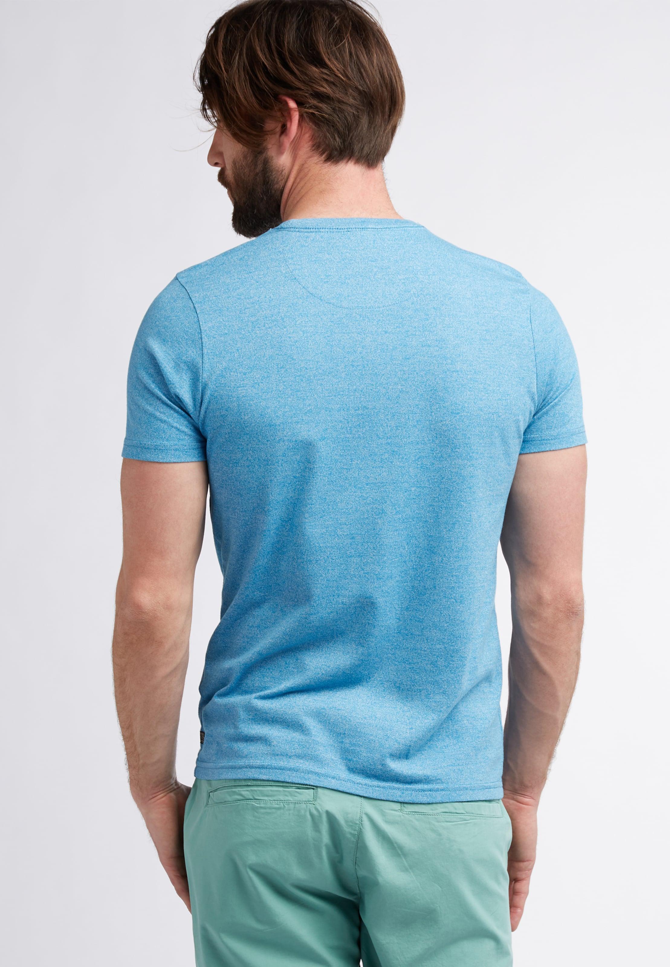 T shirt Industries Petrol TurquoiseBlanc En 8n0myvONw
