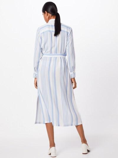 Palaidinės tipo suknelė 'ISABEL-L.SH' iš SISTERS POINT , spalva - mėlyna / balta: Vaizdas iš galinės pusės
