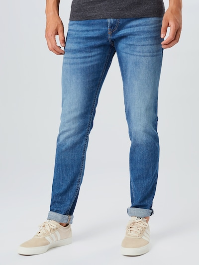 DIESEL Jeans 'THOMMER' in blue denim, Modelansicht