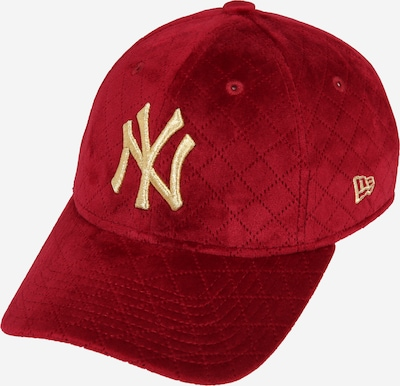 NEW ERA Cap 'WMNS MLB QUILTED 9FORTY NEYYAN UCAMGD New York Yankees' in rot, Produktansicht