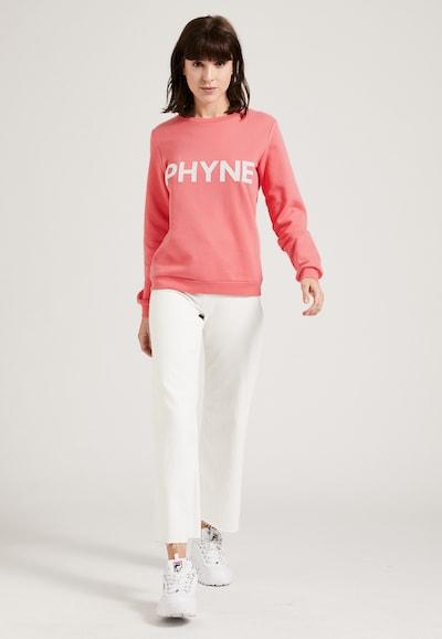 PHYNE Sweatshirt in rosé / weiß, Produktansicht
