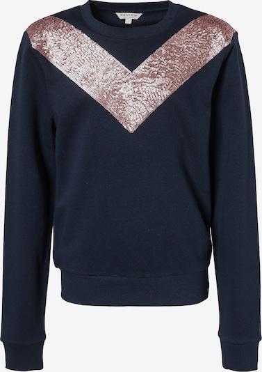 REVIEW FOR TEENS Sweatshirt in nachtblau / altrosa, Produktansicht