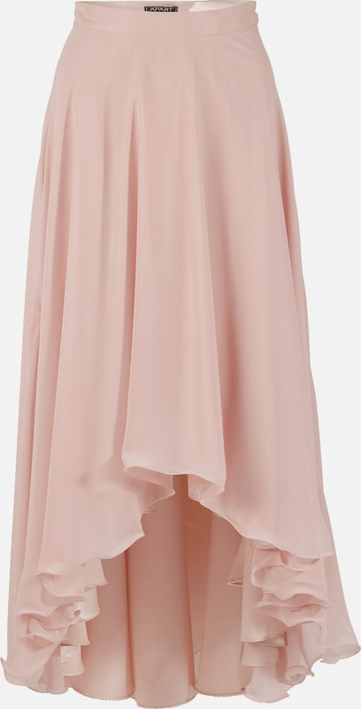 Apart Chiffon Skirt In Wide-swinging Form