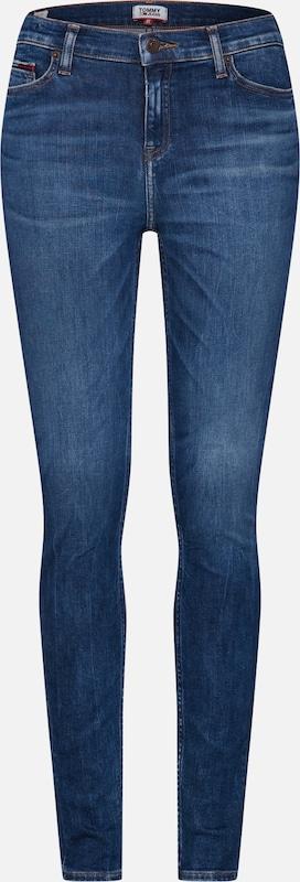 Denim Skydk' Skinny Rise Nora Jean Tommy En 'mid Bleu Jeans NvOm8ynP0w