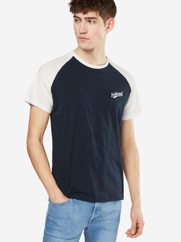 JACK & JONES T-Shirt 'JORHOBBS RAGLAN SS CREW NECK'
